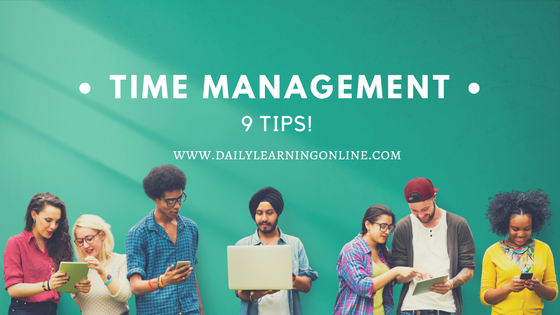 time management 10 tips